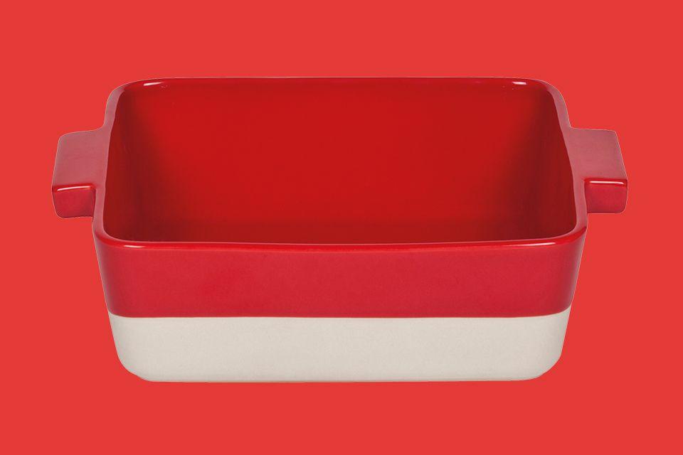 Rode ovenschaal