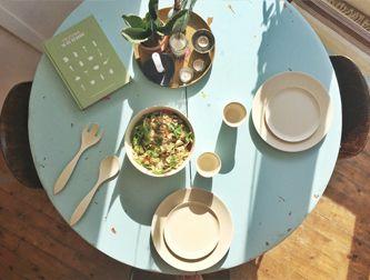 Duurzaam tafelen.